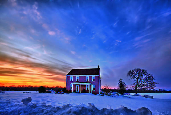 Country House Photograph - Golden Touch by Evelina Kremsdorf
