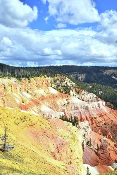 Photograph - Golden Wall At Cedar Breaks by Ray Mathis