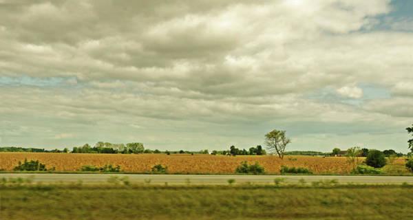 Wall Art - Photograph - Golden Wheat Off Of Highway by Garth Glazier