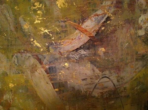 Wall Art - Painting - Golden Wind by Uldra Patty Johnson