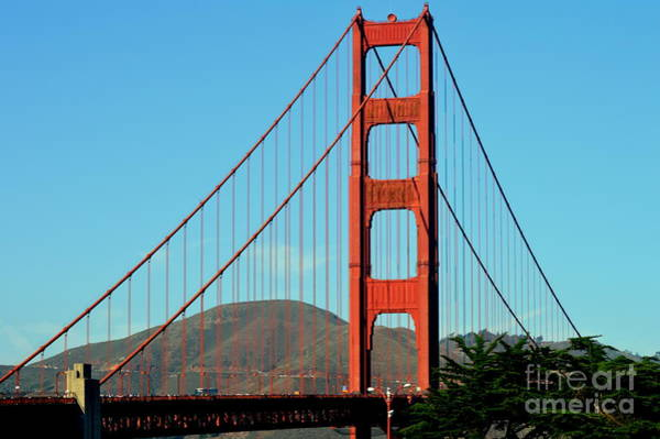 Wall Art - Photograph - Goldengate Bridge by Meeli Sonn