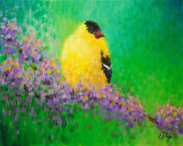 Painting - Goldfinch II by Emily Page
