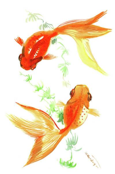 Watercolor Koi Fish Koi Fish Watercolor Pa...