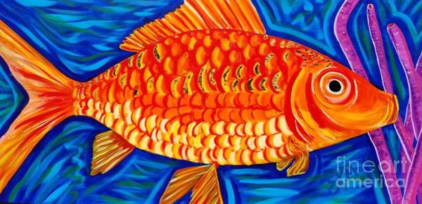 Painting - Goldfish by Shawn Christopher Mooney