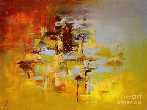 Painting - Goldmix by Preethi Mathialagan