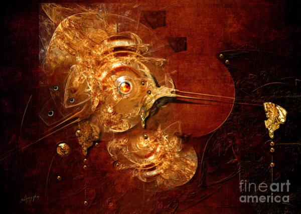 Digital Art - Goldsmith by Alexa Szlavics
