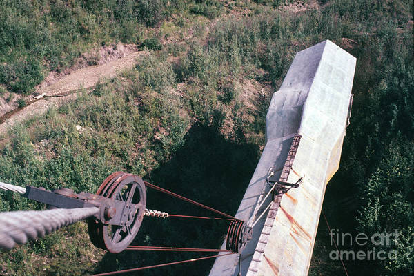 Photograph - Goldstream Dredge No. 8 Near Fox Alaska 1970 by California Views Archives Mr Pat Hathaway Archives