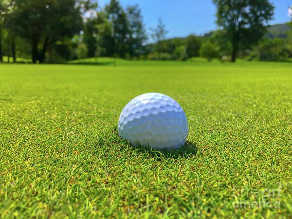 Photograph - Golf Ball by Mats Silvan
