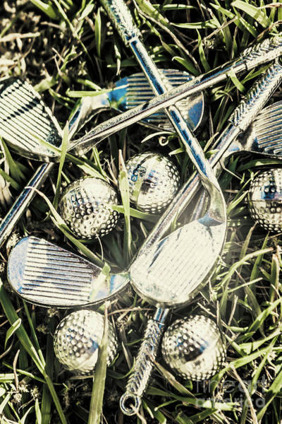 Competing Wall Art - Photograph - Golf Chrome by Jorgo Photography - Wall Art Gallery