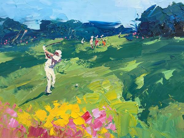 Augusta Masters Painting - Golf Club 232 by Agostino Veroni