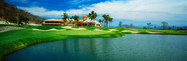 Isla Wall Art - Photograph - Golf Course At Isla Navadad Resort by Panoramic Images