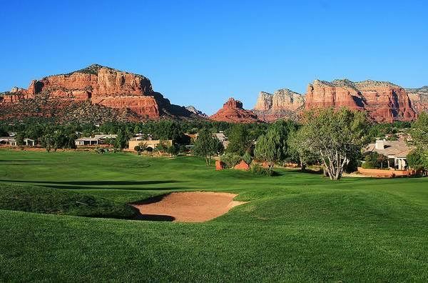 Golf In Paradise Art Print