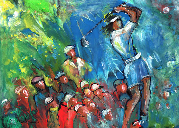 Painting - Golf Madness 02 by Miki De Goodaboom