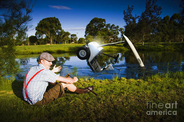 Drown Photograph - Golf Problem by Jorgo Photography - Wall Art Gallery