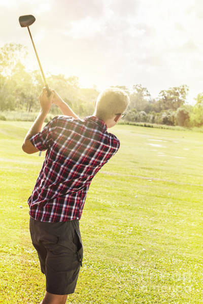 Talent Photograph - Golfing In Australia by Jorgo Photography - Wall Art Gallery