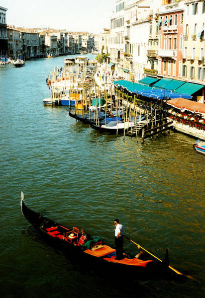 Photograph - Gondola In Venice Italy by Michelle Calkins