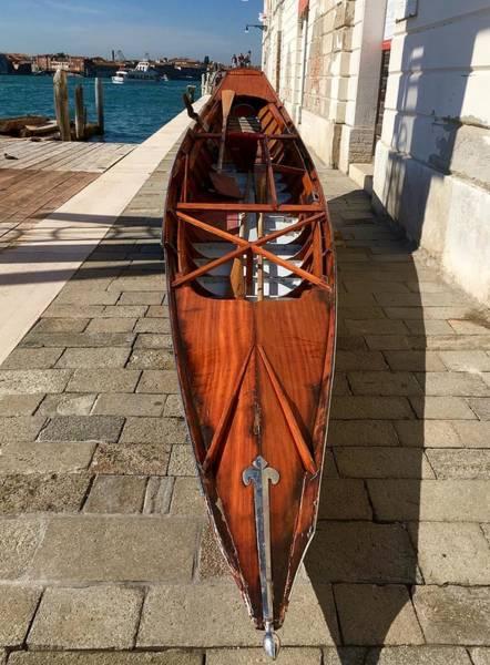 Photograph - Gondola On Repair by Marina Usmanskaya