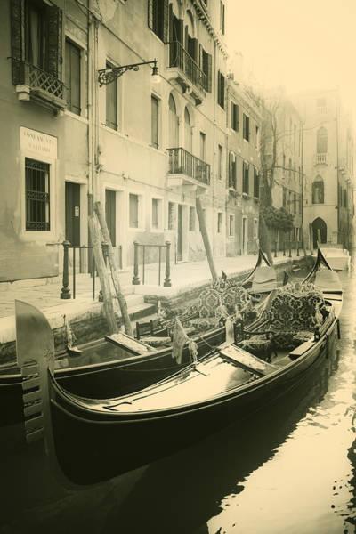 Gondola Photograph - Gondolas by Joana Kruse