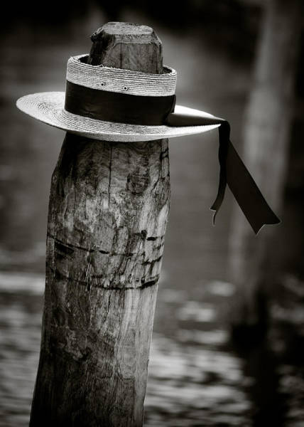 Wall Art - Photograph - Gondolier Hat by Dave Bowman