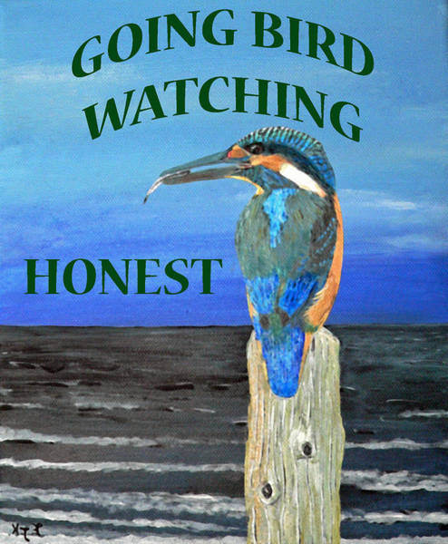 Painting - Gone Bird Watching by Eric Kempson