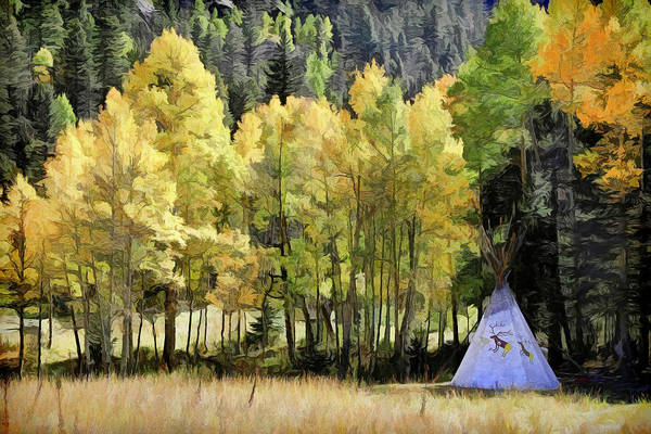 Silverton Photograph - Gone Camping by Donna Kennedy