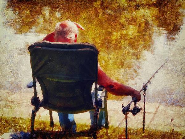 Digital Art - Gone Fishing by Leigh Kemp