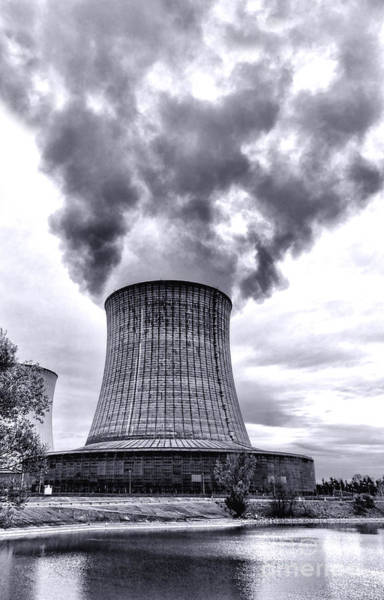 Power Station Wall Art - Photograph - Gone Nuclear by Olivier Le Queinec