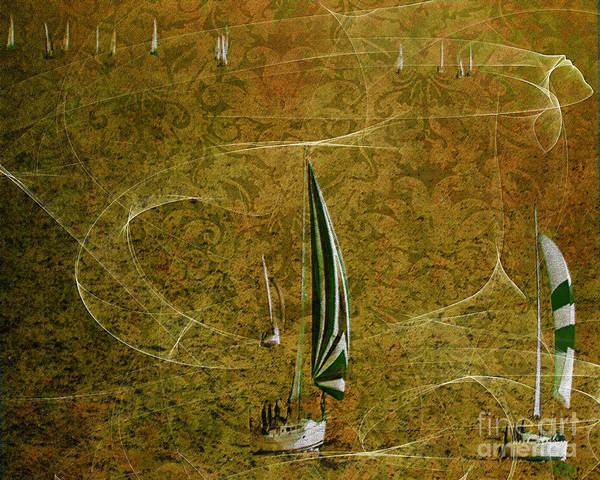 Photograph - Gone Sailing #02 by Edmund Nagele