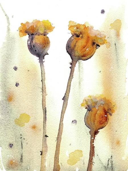 Painting - Gone To Seed by Dawn Derman