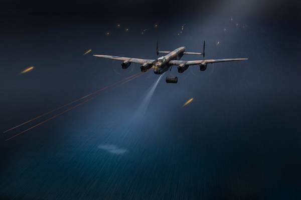 Photograph - Goner From Dambusters Lancaster J-johnny by Gary Eason