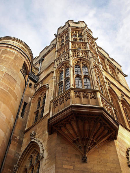 Photograph - Gonville And Caius College Library Cambridge by Gill Billington