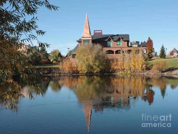 Photograph - Gonzaga Art Building by Carol Groenen