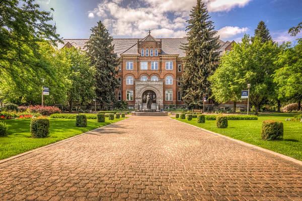 Spokane Photograph - Gonzaga University II by Spencer McDonald