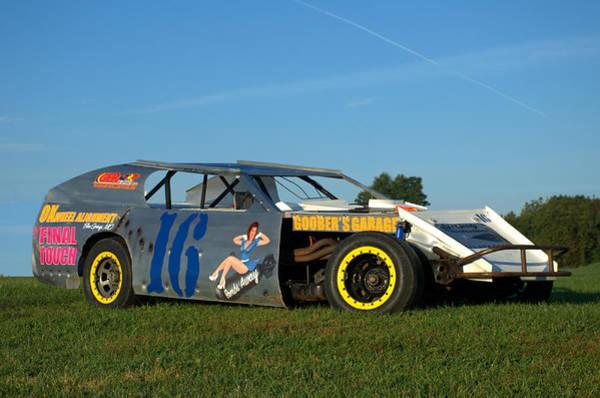 Photograph - Goobers Garage Race Car by Tim McCullough
