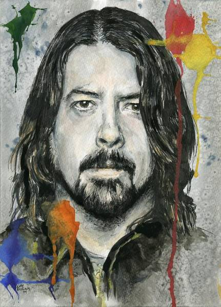 Wall Art - Painting - Good Dave by Nate Michaels