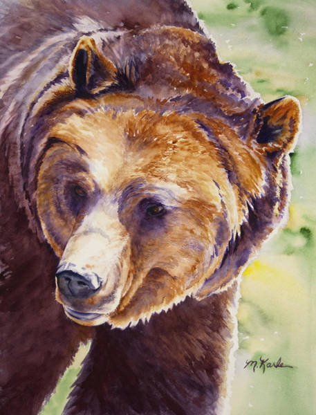 Painting - Good Day Sunshine - Grizzly Bear by Marsha Karle