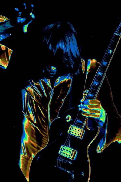 Photograph - Good Guitar Vibrations by Ben Upham
