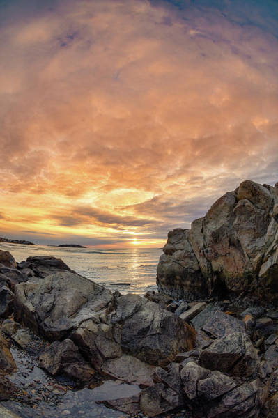 Photograph - Good Harbor, Rock View Vertical by Michael Hubley