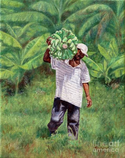 Painting - Good Harvest by Roshanne Minnis-Eyma