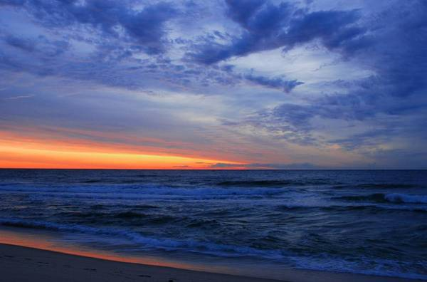 Down The Shore Photograph - Good Morning - Jersey Shore by Angie Tirado