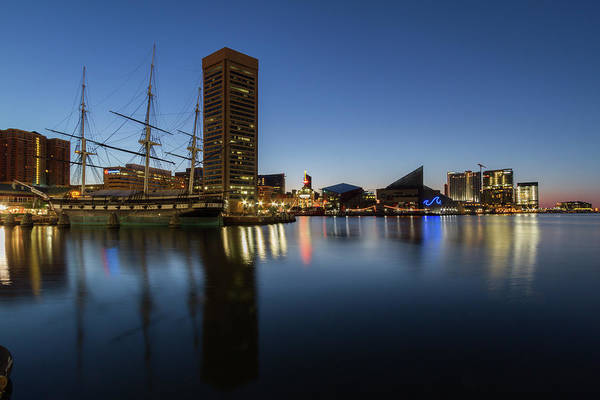 Photograph - Good Morning Baltimore by Darryl Hendricks