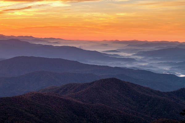 Photograph - Good Morning Clingmans Dome In The Smokies by Teri Virbickis