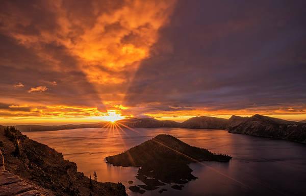Photograph - Good Morning Crater Lake by Loree Johnson