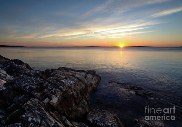 Photograph - Good Morning From The Coast Of Maine  -43658-43861 by John Bald