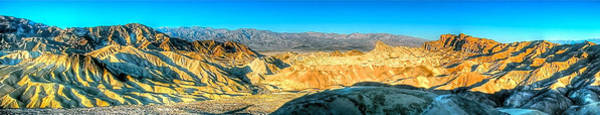 Photograph - Good Morning From Zabriskie Point by Don Mercer