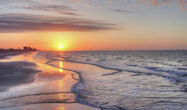 Photograph - Good Morning Grand Strand by Ree Reid
