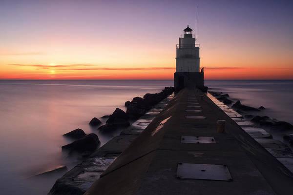 Photograph - Good Morning Manitowoc by CA  Johnson
