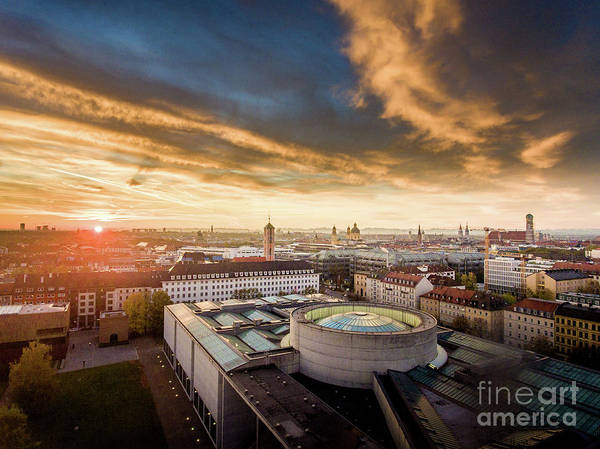 Photograph - Good Morning  Munich by Hannes Cmarits