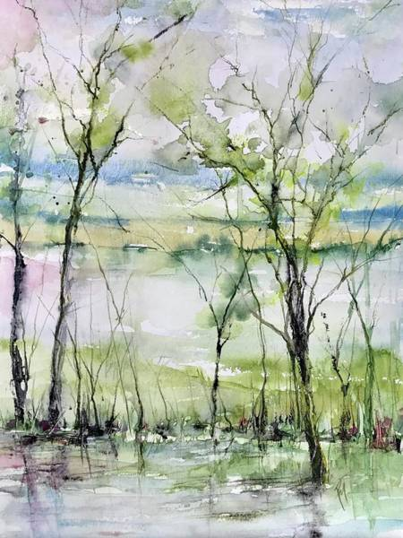 Painting - Good Morning On Da Bayou Faciane by Robin Miller-Bookhout