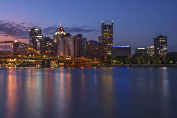 Photograph - Good Morning Pittsburgh by Rick Berk